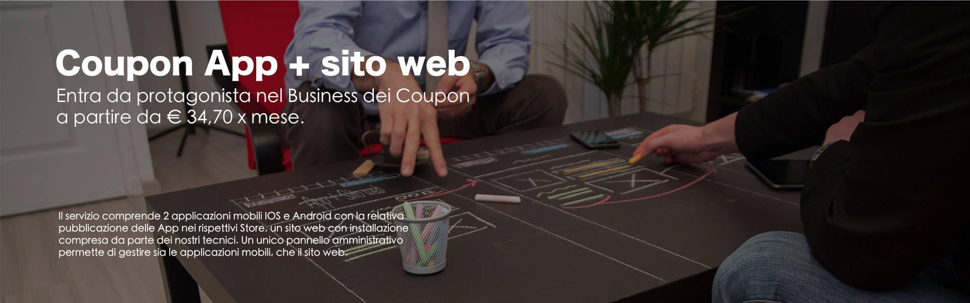Creare un sito di coupon